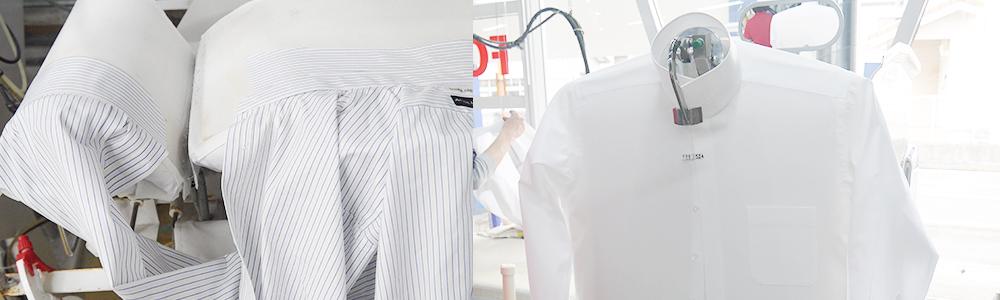 プラスキューブのワイシャツ仕上げ機画像